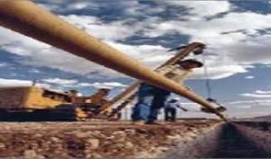 Construcción de acueductos, gasoductos.