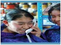 Telefonía social con acceso inalámbrico